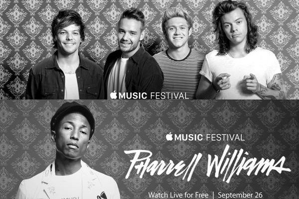 one-direction-pharrell-announced-as-headliners-for-2015-apple-music-festival