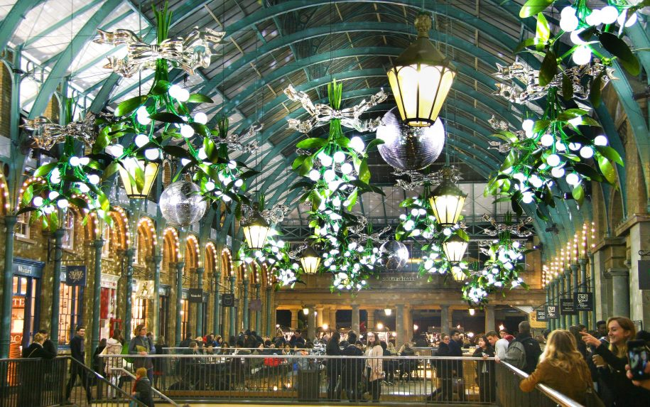 Blackout brings Christmas to Covent Garden - Access All Areas