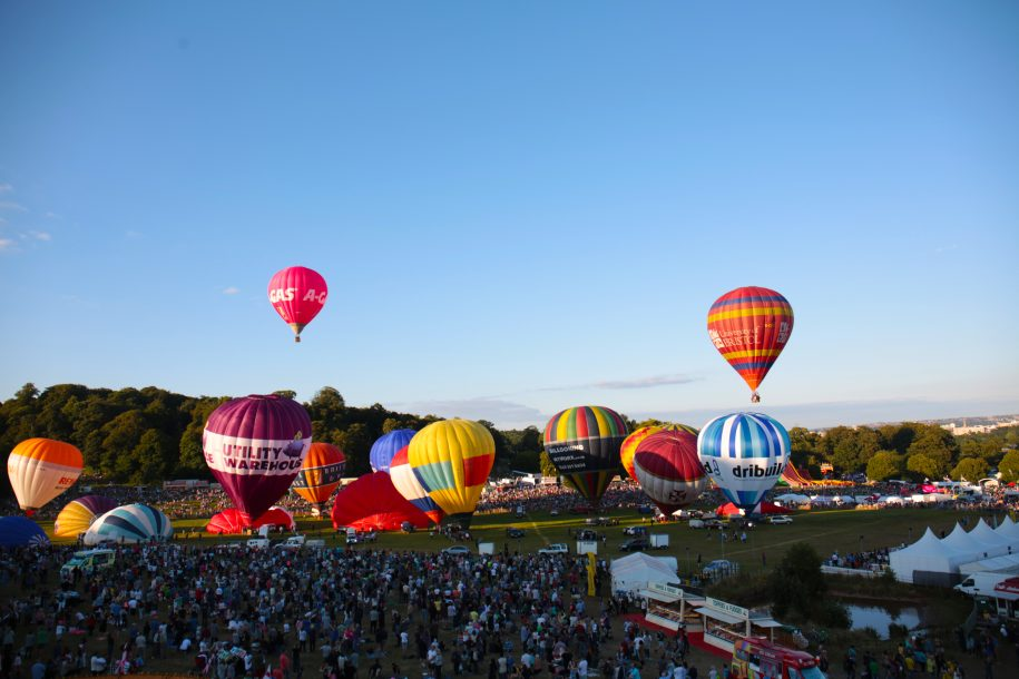 REM oversees Bristol International Balloon Fiesta