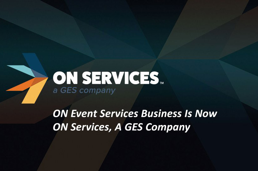 GES acquires ON Event Services