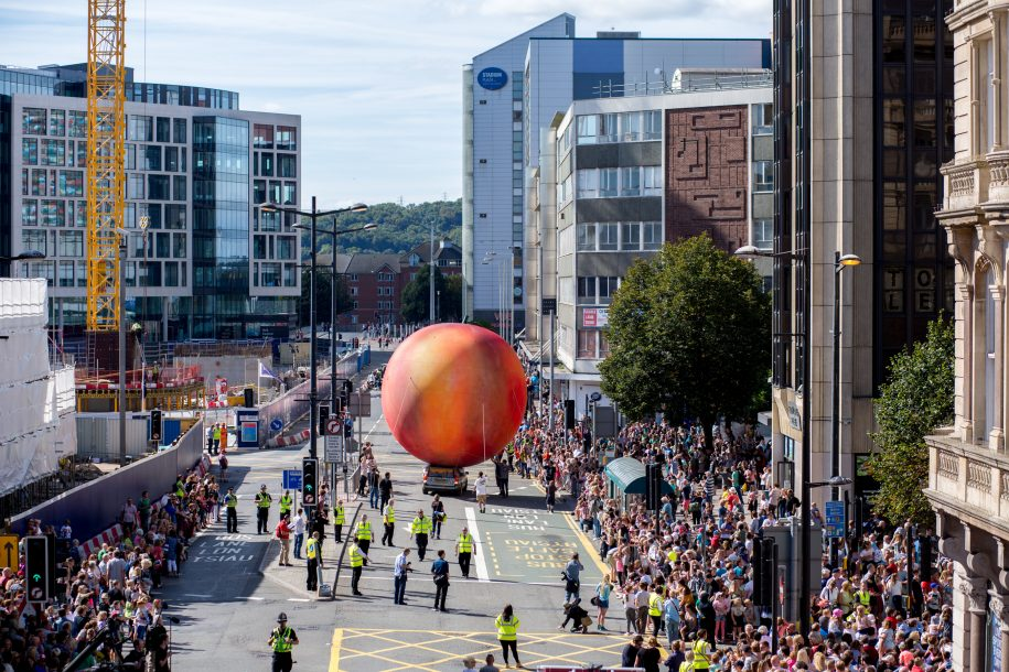 Cardiff transformed for Roald Dahl centenary