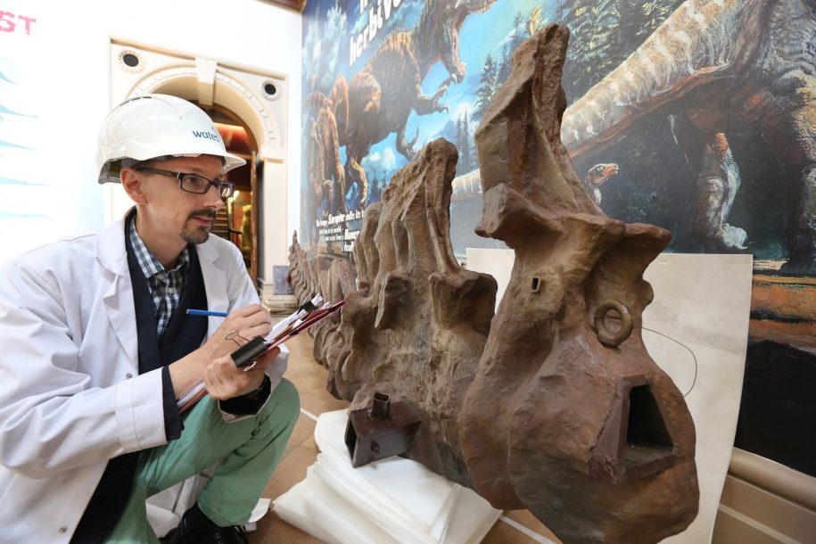 Gigantic to play key role in success of Dinosaurs of China